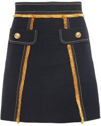 Peter Pilotto Mini Skirt - Blue