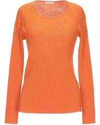 ALTEЯƎGO Pullover - Orange