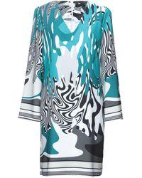 Edas Midi Dress - Blue