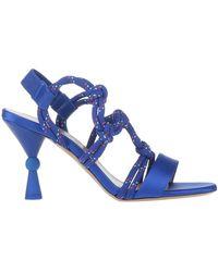 MAX&Co. Sandales - Bleu