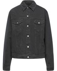 Maison Margiela Denim Outerwear - Grey