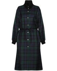 Hache Overcoat - Green
