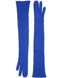Maison Margiela Gloves - Blue