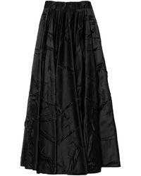 MM6 by Maison Martin Margiela Long Skirt - Black