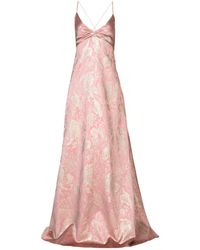 Rochas Long Dress - Pink