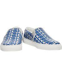 Anya Hindmarch Low Sneakers & Tennisschuhe - Blau