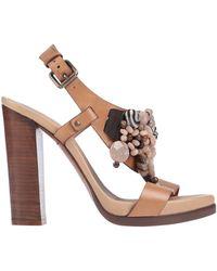 Santoni Sandals - Brown