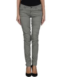 Novemb3r Casual Trousers - Green