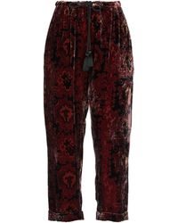 Mes Demoiselles Casual Trouser - Red