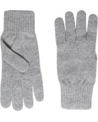 8 by YOOX Gloves - Grey