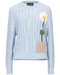 Boutique Moschino Pullover - Blu