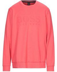 BOSS by Hugo Boss Sweatshirt - Pink