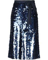 J.Crew 3/4 Length Skirt - Blue