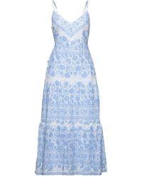 BCBGMAXAZRIA Robe longue - Bleu