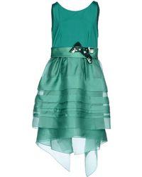 Maria Grazia Severi Short Dress - Green