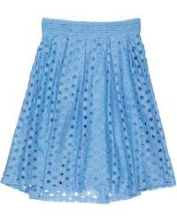 Y.A.S Midi Skirt - Blue