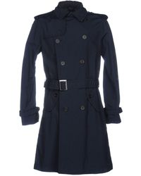 Armani Jeans - Overcoat - Lyst