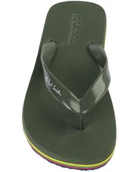 PS by Paul Smith Toe Strap Sandal - Green