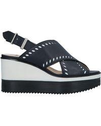 Jil Sander Navy Sandals - Blue