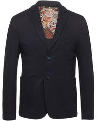 Squad² Suit Jacket - Blue