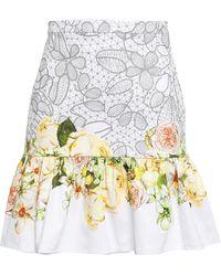 Isolda Midi Skirt - White