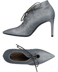 Giancarlo Paoli Lace-up Shoe - Gray