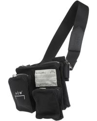 A_COLD_WALL* * Backpacks & Bum Bags - Black