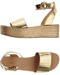 Primadonna Sandals - Metallic
