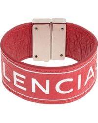 Balenciaga Bracelet - Rouge