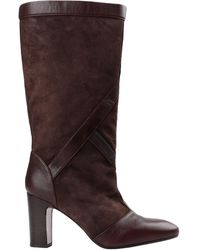 Chie Mihara Knee Boots - Brown