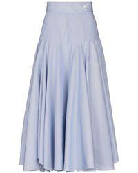 Loewe 3/4 Length Skirt - Blue