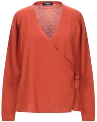 Alpha Studio Wrap Cardigans - Orange