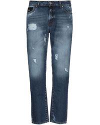 John Richmond Denim Trousers - Blue
