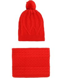 Chinti & Parker Scarf - Red