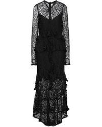Marciano Robe longue - Noir