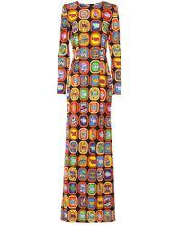 Moschino Long Dress - Yellow