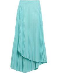 ..,merci Midi Skirt - Blue