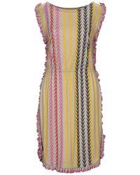 Marc By Marc Jacobs Kurzes Kleid - Gelb