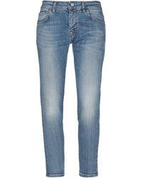 Entre Amis Denim Trousers - Blue