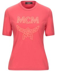 MCM T-shirt - Rosso