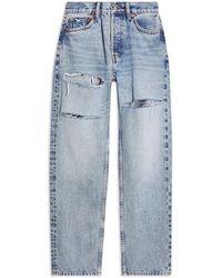 TOPSHOP - Pantalon en jean - Lyst