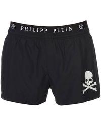 Philipp Plein Swimming Trunks - Black