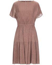 L'Autre Chose Knee-length Dress - Brown