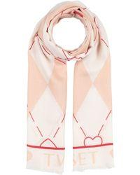 TWINSET UNDERWEAR Scarf - Pink