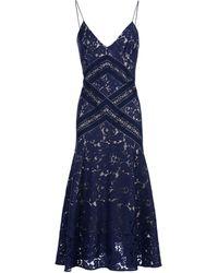 Lover Midi Dress - Blue