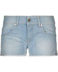 Met Denim Shorts - Blue