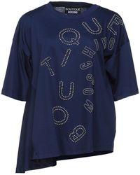 Boutique Moschino T-shirt - Blu