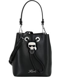 Karl Lagerfeld Ikonik Handbag - Black