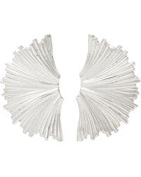 Meadowlark Earrings - Metallic
