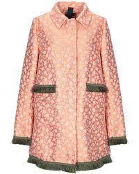 History Repeats Overcoat - Pink